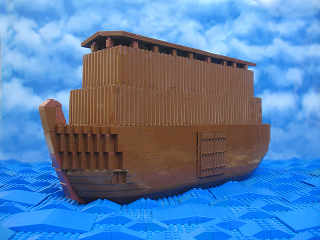 Noah S Ark An Example Image From The Two New Illustrated