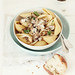Conchiglie Pasta with Mushroom & Parmesan Cream Sauce