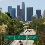 Heading into L.A.