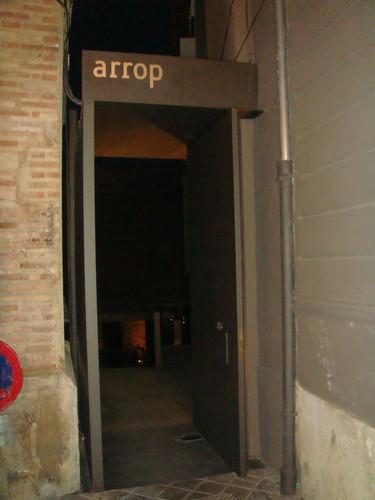 Restaurante arrop valencia entrada al restaurante flickr - Restaurante entrevins valencia ...
