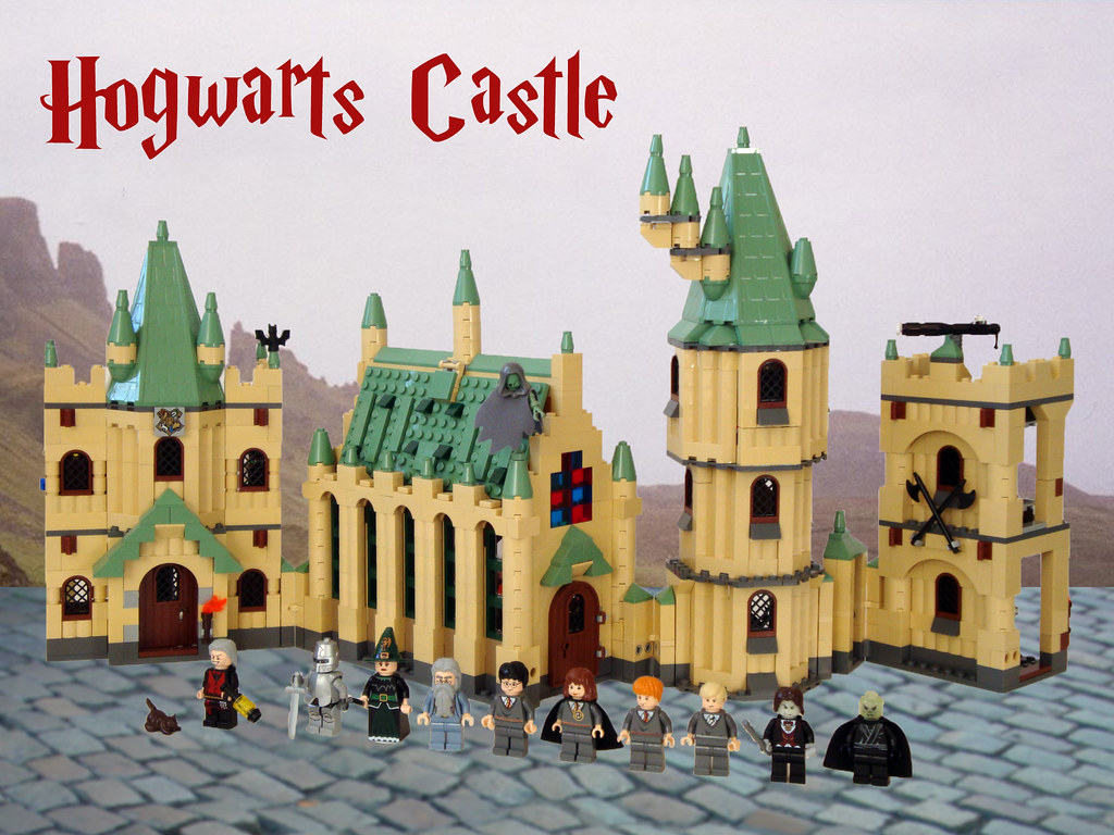Castle Harry Potter Lego Lego Harry Potter 4842