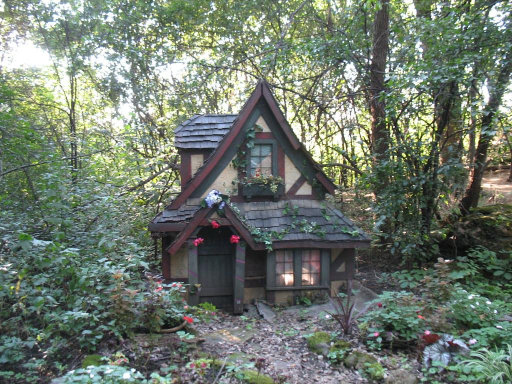 One Of The Fairy Houses In The Secret Garden Denver Bear