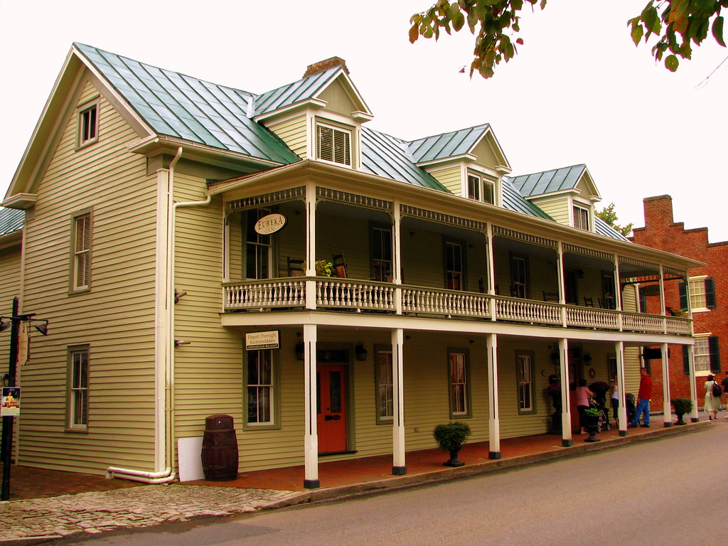 Eureka Inn Jonesborough Tn Located In Tennessee S
