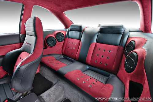 honda civic with custom interior this custom honda civic h flickr. Black Bedroom Furniture Sets. Home Design Ideas