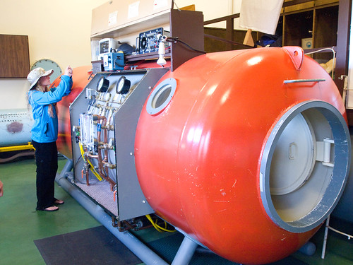 The new hyperbaric chamber at Pacific Grove | by Joi