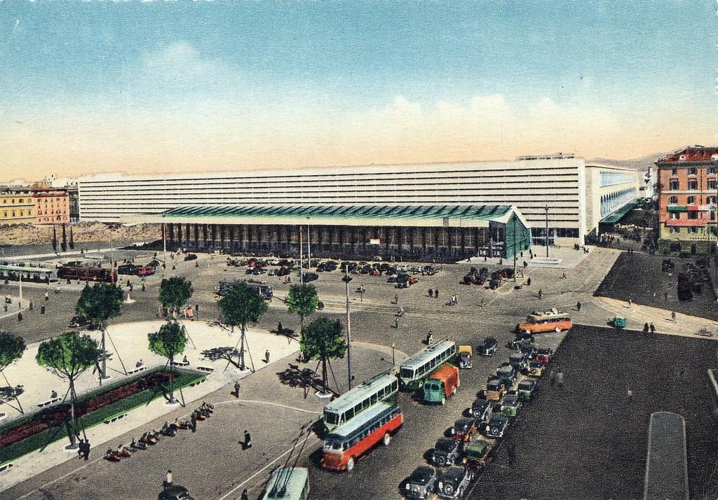 Postcard roma stazione termini rome main train for Affitto ufficio roma stazione termini