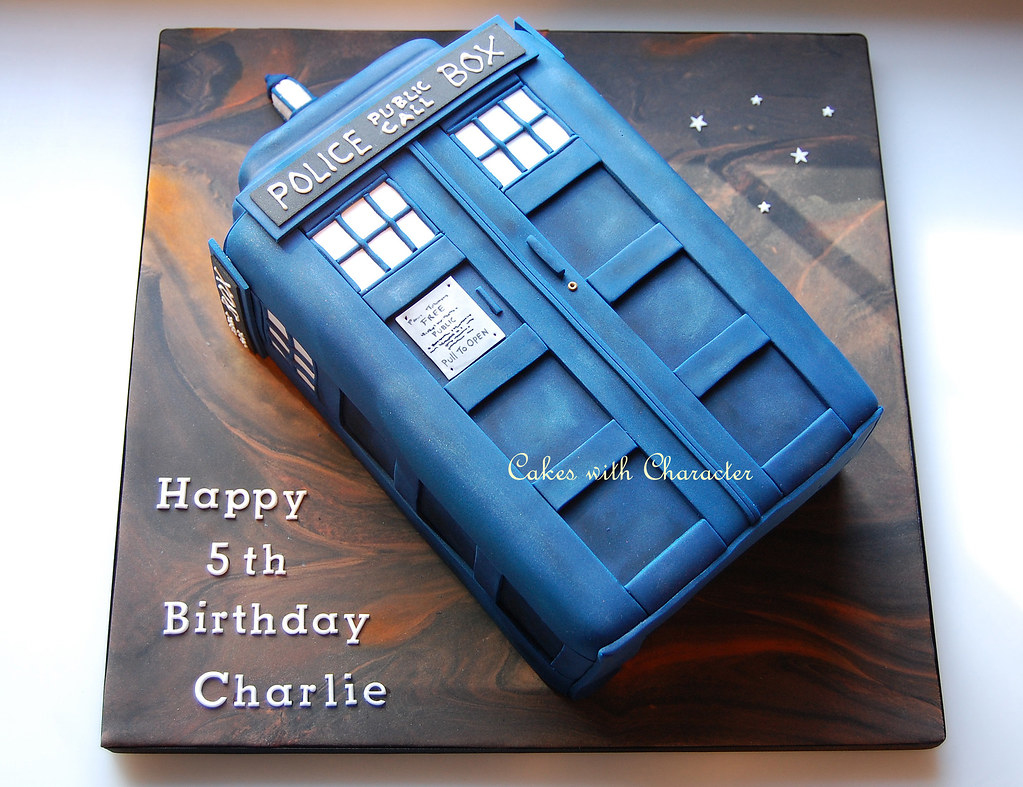 Tardis Cake Tracey Thorpe Flickr