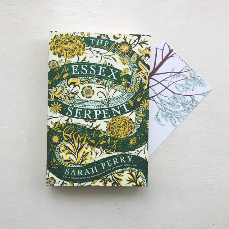 the essex serpent sarah perry book haul vivatramp book blog