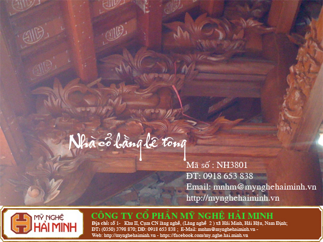 DoGoMyNgheHaiMinh NH3801 o