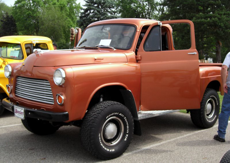New Dodge Truck >> '54 - '56 Dodge Pickup | '54 _ '56 Dodge truck sitting on ...