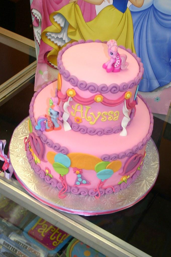 Birthday Cake Images With Name Pinky : Pinkie Pie cake Mary Katherine Flickr