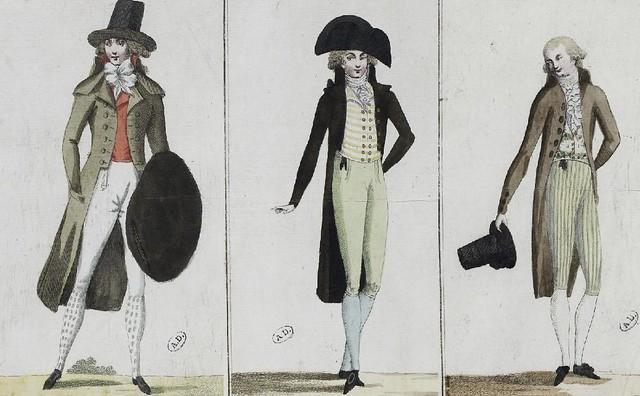 1790s fashion men