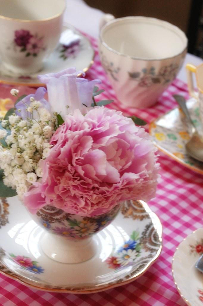 Girls Flower Birthday Cake