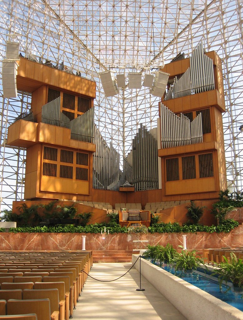 Organ Inside Crystal Cathedral Garden Grove Orange Count