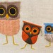 Funny little orange owl...