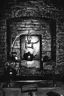 Inglenook Fireplace In Family Room