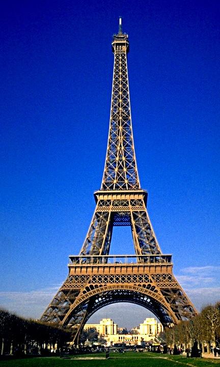 Parigi, anno 1996 - Tour Eiffel (Photoscan) | La Torre ...