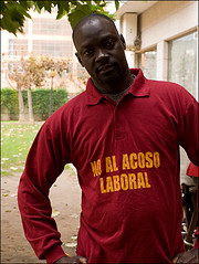 No al acoso laboral / Not to the labor harassment by Sunkey / Sandra