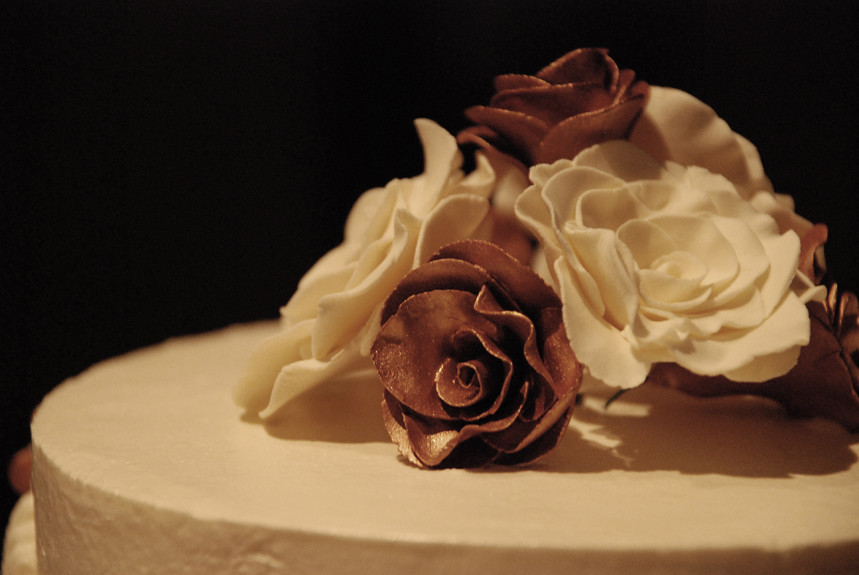 Mocha Filling Wedding Cake