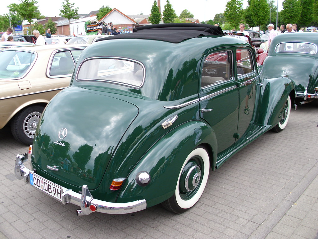 Mercedes benz w187 220 1953 2 trittau 2010 hog for 1953 mercedes benz