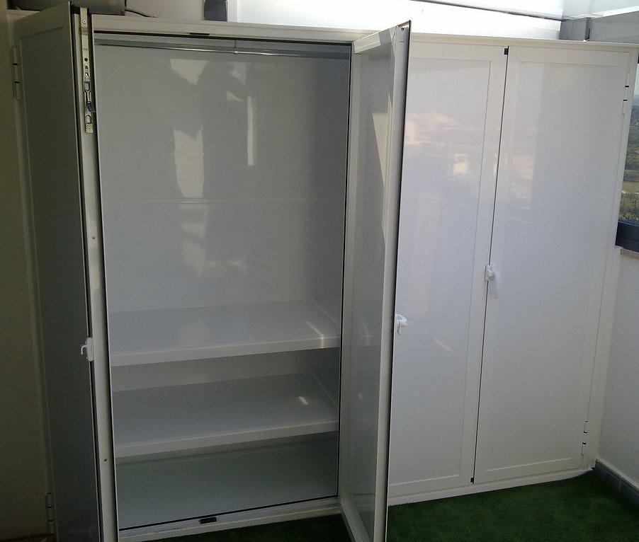 armario para lavadora y secadora