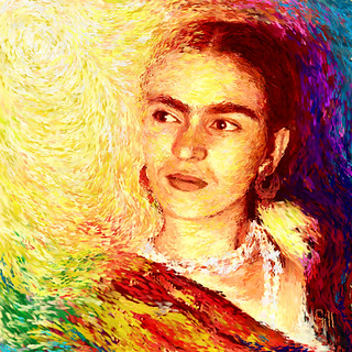 Frida in Colour of Joy | by Shubnum Gill