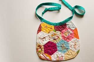 baby bib | by a quilt is nice