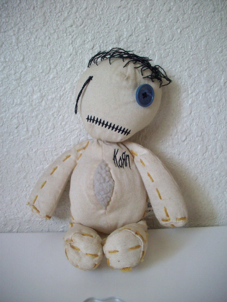 """KORN: """"Issues"""" Rag Doll   I've had this since high school"""