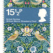 Great Britain postage stamp: William Morris