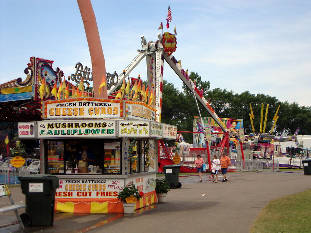 Food Trailer And Carnival Rides Northern Wisconsin State