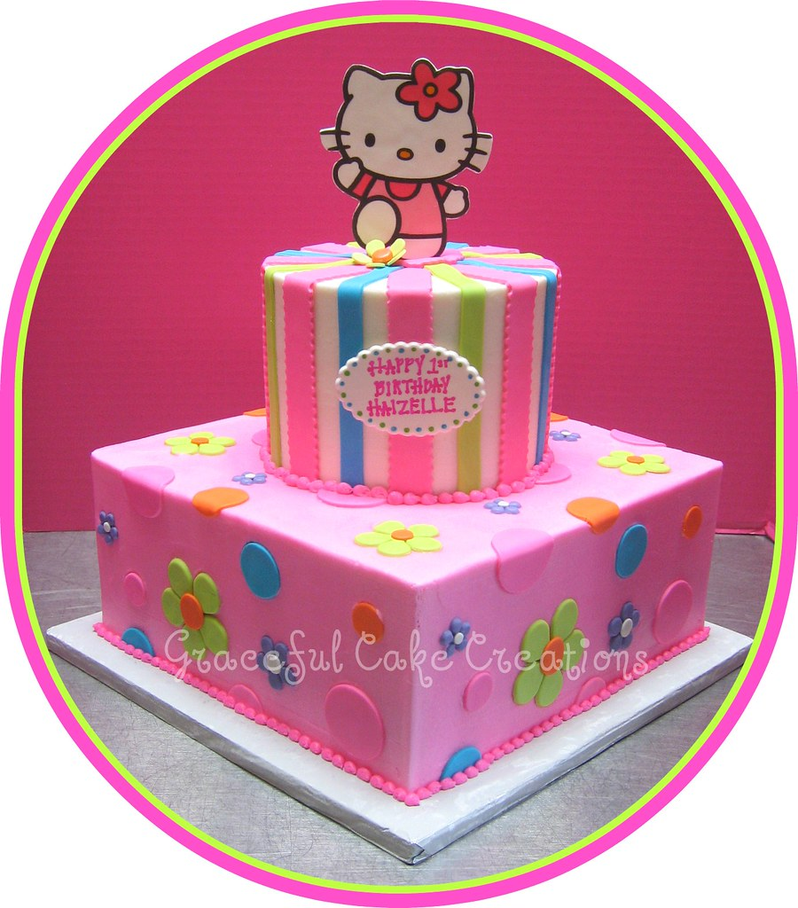 Hello Kitty Birthday Party Cakes