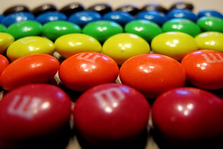 M&Ms Sorted by Color | by Mr.TinDC