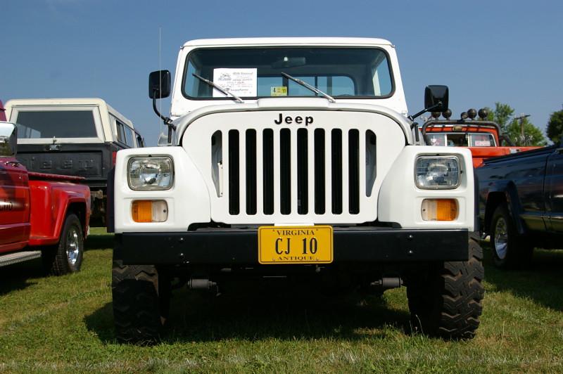 1985 Jeep Cj 10 10 Slot Grill License Plate Quot Cj 10