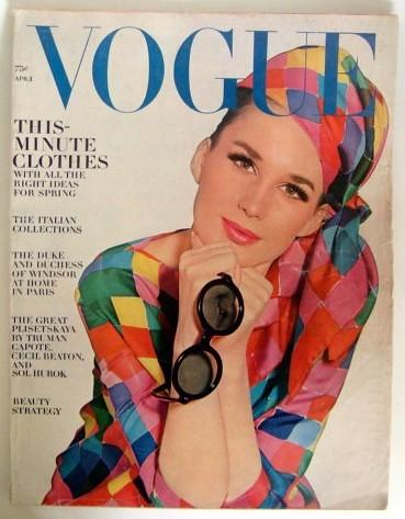 Vogue April 1964 Vogue Fashion Magazine April 1964 Covel Flickr