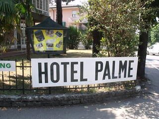Hotel Palme, Garda - sign | by ell brown