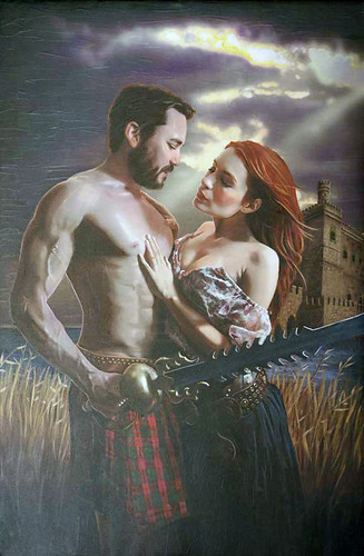 "Fawkes and Codex ""Highland Sextasy.""  Original art by Greg Aronowitz 