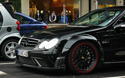 Mercedes-Benz CLK63 AMG Black Series | by Martijn Beekmans