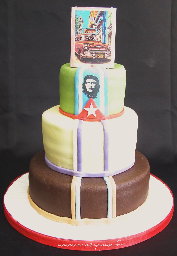 Cuban Themed Wedding Cake Crazy Cake Moselle France 00 Flickr