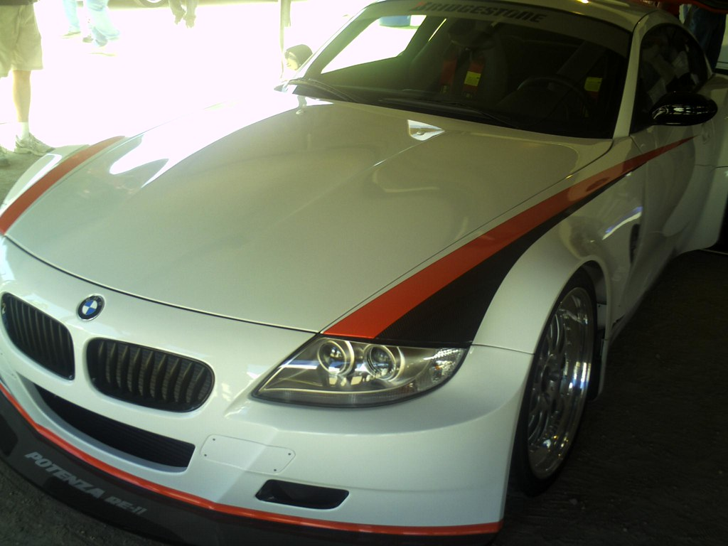 Pict0021 A Tricked Out Bmw Z4 Was On Hand In A Vendor