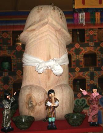 Phallus Symbol Bhutan Home Expeditions Bhutan Flickr