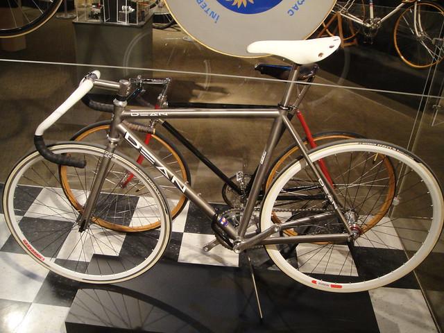 Dean titanium track bike