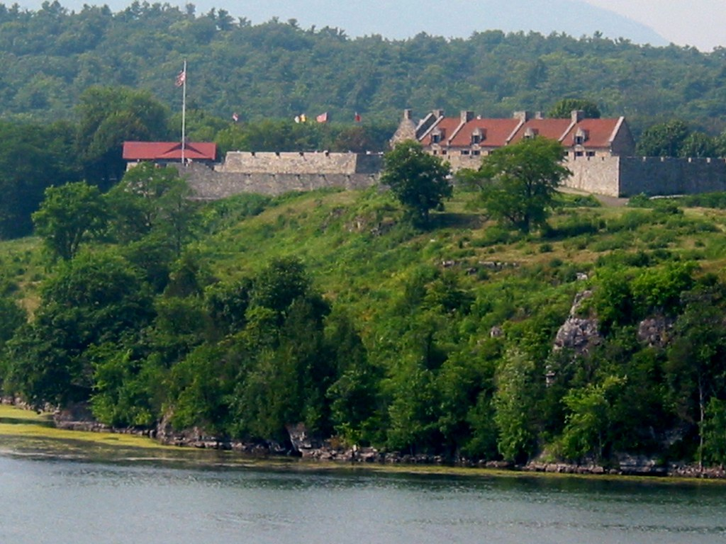 Mount Independence 1776 View Of Fort Ticonderoga In N