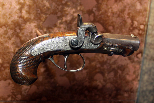 The Actual Gun That Killed President Lincoln This Is