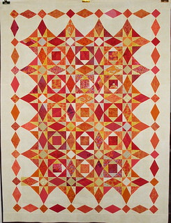 T - Heat Wave | by Linda Rotz Miller Quilts & Quilt Tops