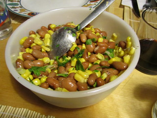 Bean and Corn Salad | by veganbackpacker