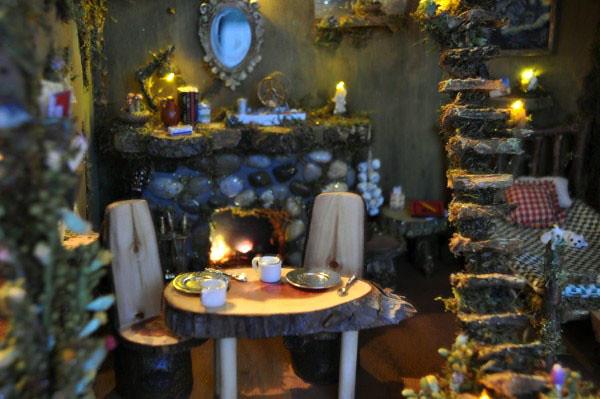 Fairy House At Dusk Our New Fairy House Is Finally