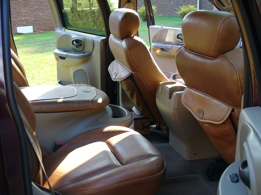 ... 2001 FORD F 150 KING RANCH REAR INTERIOR | By Nc59fairlane