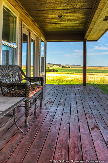 The old country porch flickr photo sharing for The country porch com