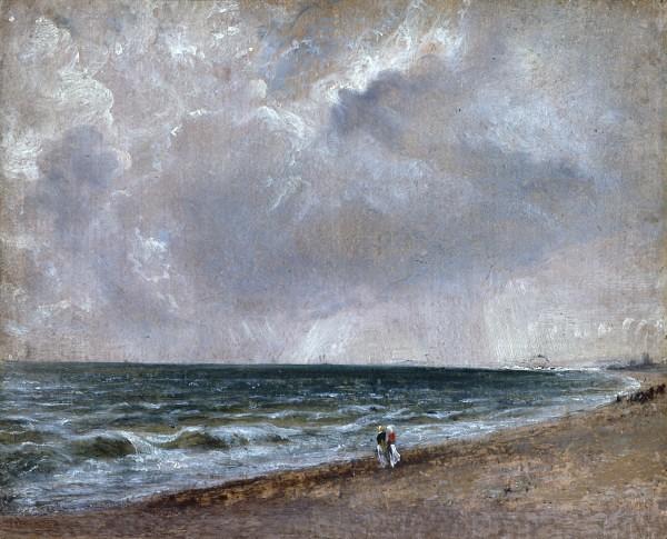 Constable John 1776 1837 1824 28 Seascape Study Brig