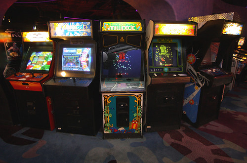 Arcade Games | by Sam Howzit